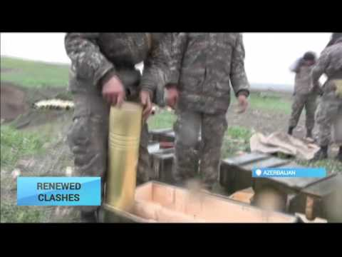 Renewed Clashes in Nagorno-Karabakh: Armenian-backed and Azeri troops continue fighting