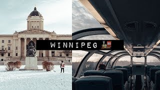 WINTERY WINNIPEG & THE LONGEST TRAIN JOURNEY OF OUR LIVES! | Canada Road Trip