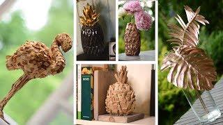 DIY ЛЕТНИЙ ДЕКОР - много идей! Тропический декор своими руками!