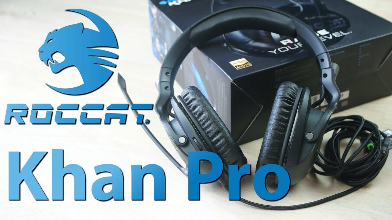 7029e497205 Roccat Khan PRO im Test - Roccats neues Gaming-Headset ausprobiert [Review]