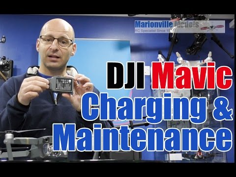 Get The Best From Your DJI Mavic Batteries & How to Charge Them.