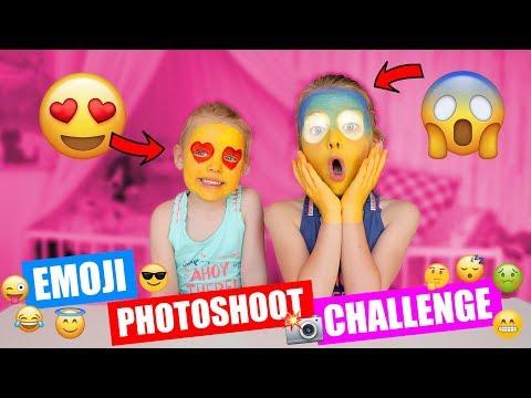 EMOJI PHOTOSHOOT CHALLENGE!! ♥DeZoeteZusjes♥