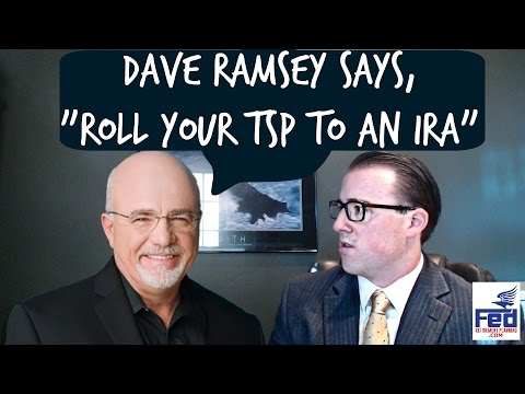 """Dave Ramsey says, """"Move Your TSP to an IRA"""""""