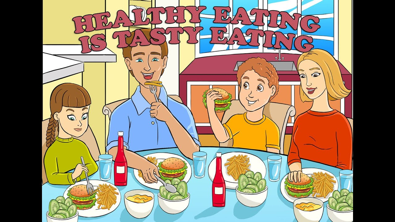 Healthy       Eating    is Tasty    Eating     Children s Story  USDA s