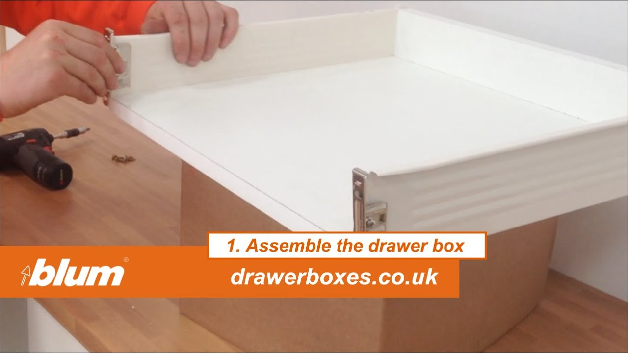 Blum Metabox - shallow replacement kitchen drawer box - 1 of 3 ...