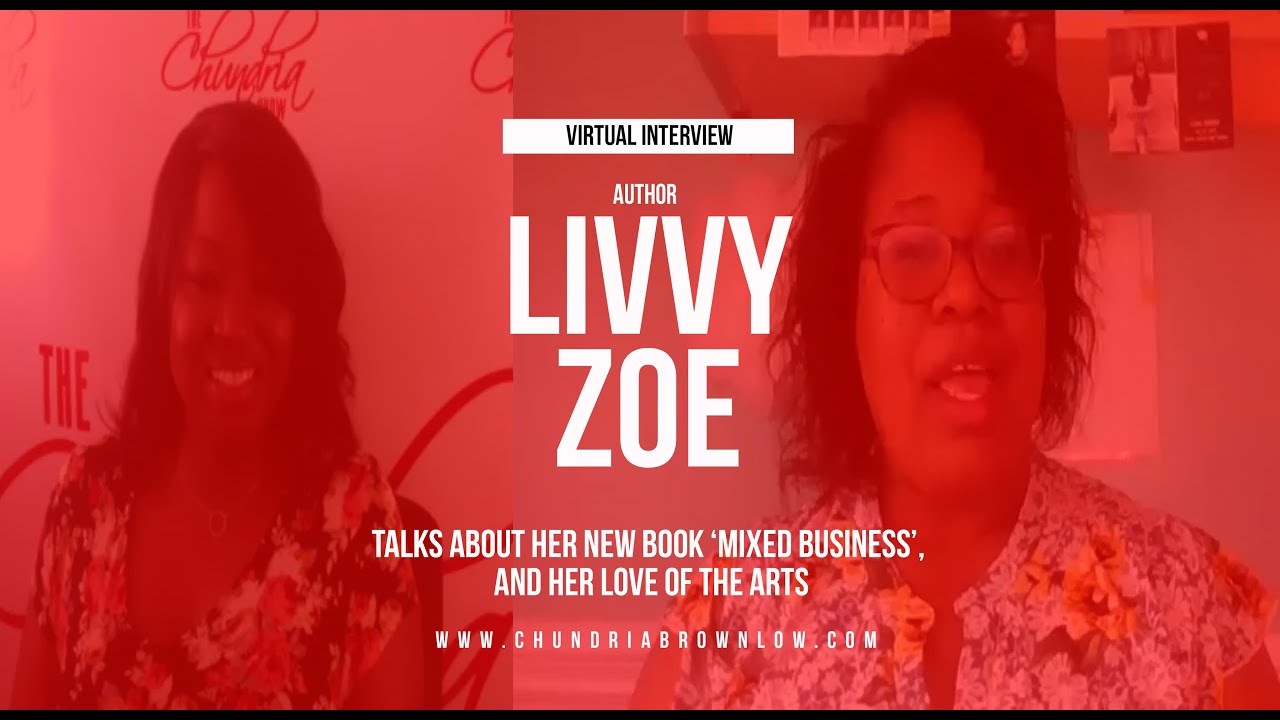 Author Livvy Zoe Dishes On Her New Book 'Mixed Business'