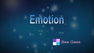Emotion ♦ Bee Gees ♦ Karaoke ♦ Instrumental ♦ Cover Song