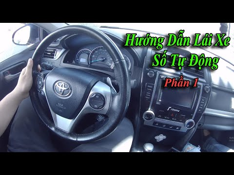 Học Lái Xe Số Tự Động Từ Con Số 0(Part 1)| How To Drive An Automatic Car | Huy Nguyễn - Cuộc Sống Mỹ