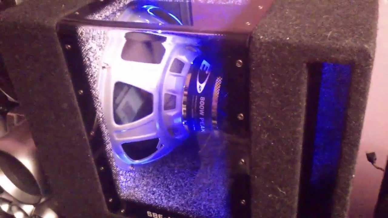 Alpine Sbe 1243bp Bandpass Bass Box 250rms 800w With Bule