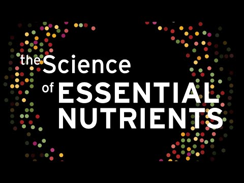 The Science of Essential Nutrients