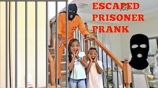 Escaped Prisoner Prank On Kids