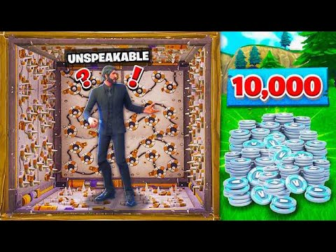 FIRST TO ESCAPE THIS ROOM GETS A 10,000 VBUCKS!