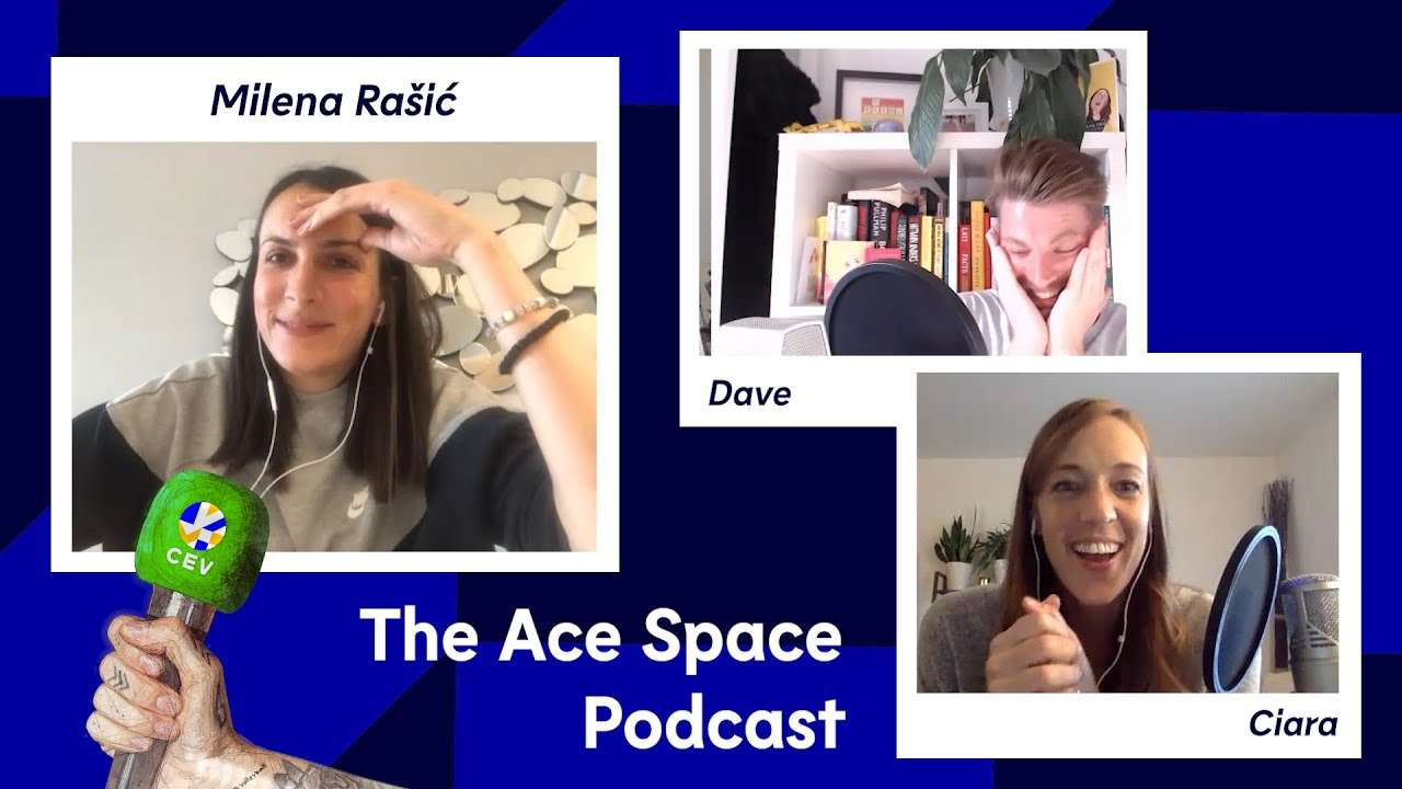 """Vakifbank Istanbul is like a big family"" Milena Rasic I Ace Space Podcast"