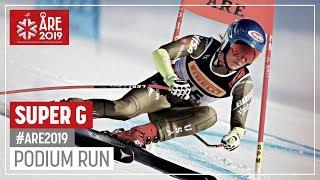 Mikaela Shiffrin | Gold Medal | Ladies' SuperG | Are | FIS World Alpine Ski Championships