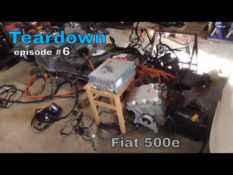 Fiat 500e - Teardown - episode #6