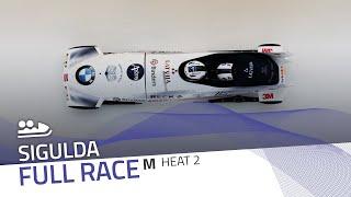 Sigulda | BMW IBSF World Cup 2020/2021 - 2-Man Bobsleigh Race 1 (Heat 2) | IBSF Official