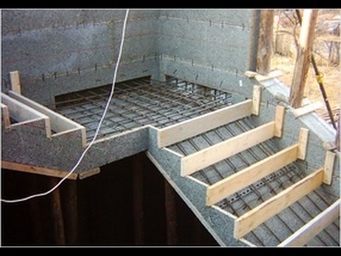 treppe selber bauen beton treppe betonieren treppe selber bauen garten youtube. Black Bedroom Furniture Sets. Home Design Ideas