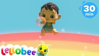 Learn Rainbow Colors | @Lellobee - ABC Kids | Preschool Education