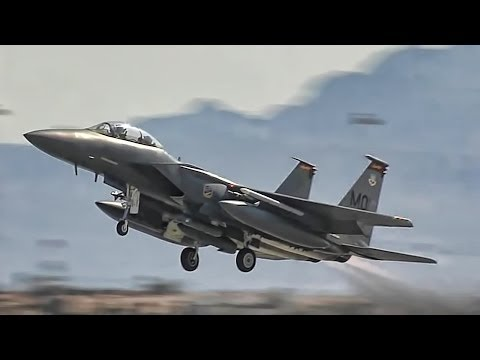 Fixed-Wing Military Aircraft Takeoff & Land - Compilation