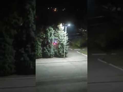 В Торецке задержали водителя разъезжавшего на внедорожнике в пешеходной зоне
