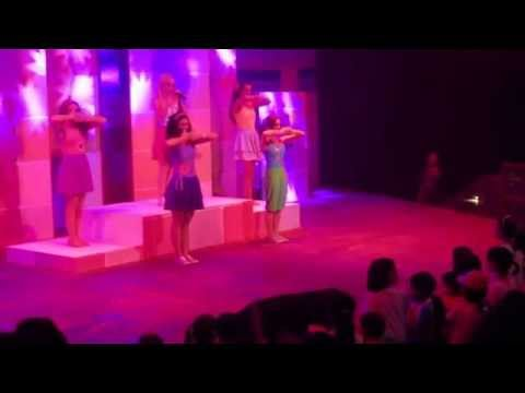 Lego Friends performance in Legoland Malaysia