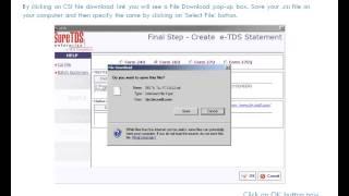 كيفية إنشاء والتحقق من صحة TDS عودة الملف الإلكتروني باستخدام SureTDS