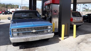 Gas Mileage of my Cammed C10 Chevy Truck..... Worse than I thought...... (with 2.73, 355ci, & th400)