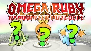 I CAN'T BELIEVE THESE STARTERS! | Pokemon Omega Ruby RANDOMIZER Nuzlocke LIVE #1