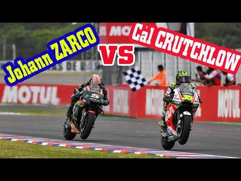 Cal CRUTCHLOW VS Johann ZARCO Who Is Winner ? - Relive Race MotoGP Argentina