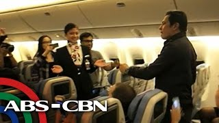 Gary V serenades PAL flight passengers