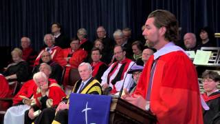 R.A. Dickey, Wycliffe College Convocation 2013 Honorary Degree recipient
