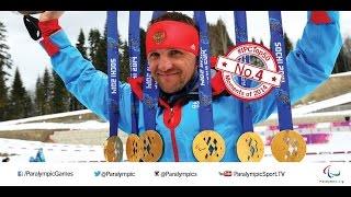 No. 4 Roman Petushkov wins record six gold medals at Sochi 2014 Paralympic Winter Games