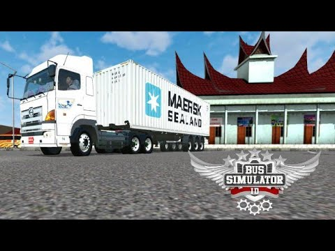 BUSSID V2 9 Hino-700 Truck Mod For Bus Simulator Indonesia Big Container  Truck Mod For Bussd v2 9 