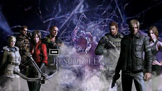 Resident Evil 6: Part 2 Game Movie PS4Pro Full HD 1080p/60fps  Walkthrough Gameplay No Commentary