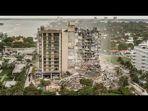 Listen to 911 calls minutes after Surfside condo collapse