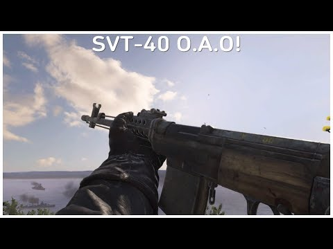 SVT-40 O.A.O Variant Review! - (Call of Duty WW2)