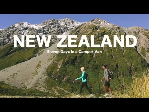 New Zealand Road Trip in a Campervan