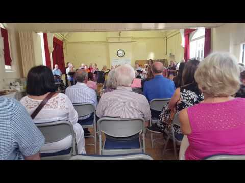 Hoole Community Chior end of term 19 07 17