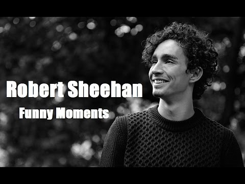 Robert Sheehan Funny Moments