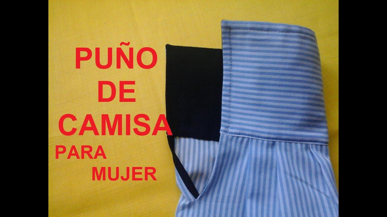 PUÑO DE CAMISA PARA MUJER
