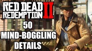 Red Dead Redemption 2 - 50 Mind-Boggling Details You Probably Missed