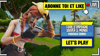 OBJECTIVE: Niv 60-65 LIVE FORTNITE EN - SAUVER THE WORLD