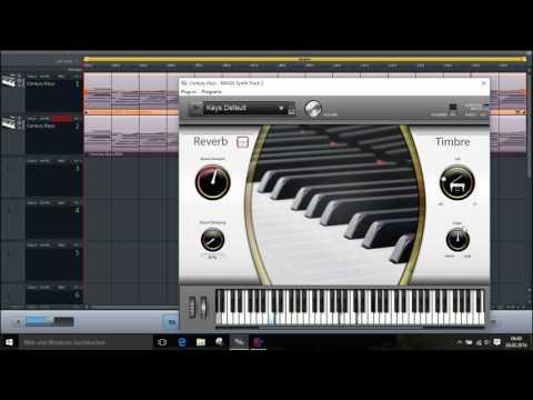 VST Century Keys in MusicMaker