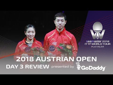 Day 3 Review presented by GoDaddy | 2018 ITTF Austrian Open