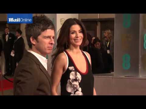 Noel Gallagher And Sara Macdonald Arrive At The BAFTAs