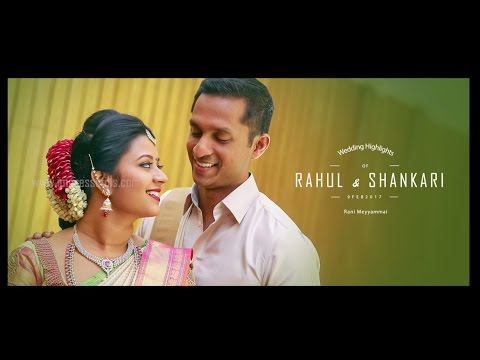 Rahul & Shankari | Wedding | Candid Video | Rani Meyyammai Hall, Egmore, Chennai-8
