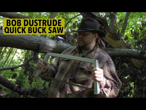 Bob Dustrude Quick Buck Saw  - Mantis Outdoors/Preparedmind101