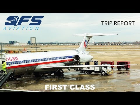 TRIP REPORT | American Airlines - MD 80 - Dallas (DFW) To Memphis (MEM) | First Class