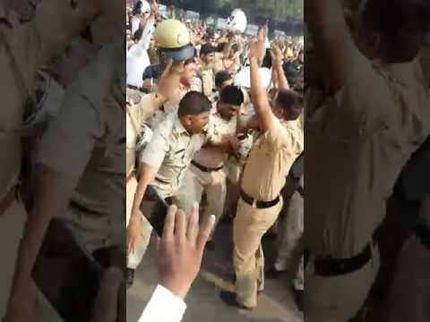 Indian Police Funny Dance on Modi Song