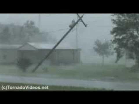 Hurricane Gustav from Houma, Louisiana